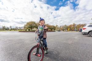 Happy Bicyclist